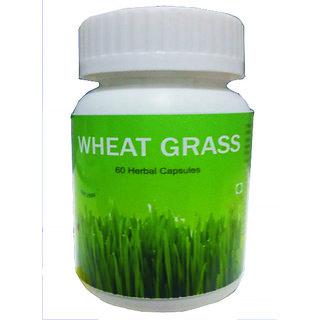 Hawaiian Herbal Wheat Grass Capsule 60 Capsules(Buy 1 Hawaiian Herbal Wheat Grass Capsule  Get 1 Same Drops Free)