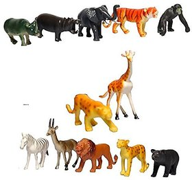 Skky bell Animal land wild animal set of 10
