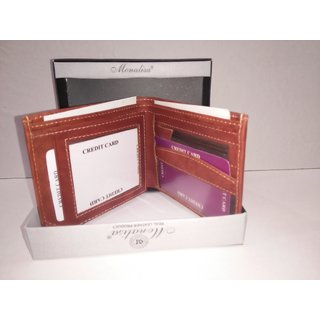 Monalisa Leather stylish wallet for men