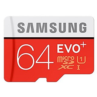 Samsung EVO Grade 3, Class 10 64GB MicroSDHC 100 MB/S Memory Card with SD Adapter Memory Card Summer Deal Offer