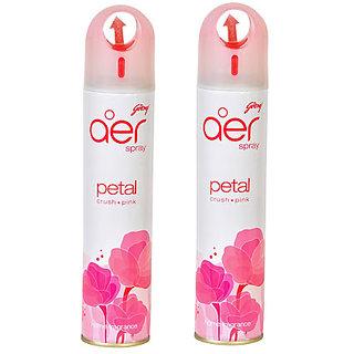 2PC Godrej Aer Spray Room Freshner