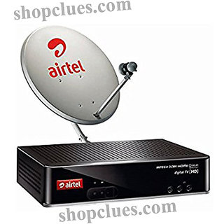 airtel dth new connection Airtel DTH Recharge Online Digital TV connection SD Pack