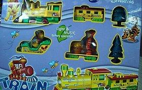 Pooh Train Set With Light  Music