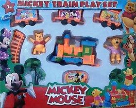 Mickey Mouse B/O Train Set