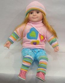 Doll Poem Original Beautiful Sweater Pink Blue