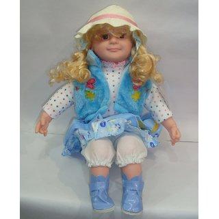 DollPoem Original Beautiful Doll Blue Jacket