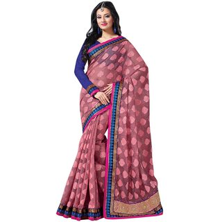 Triveni Multicolor Jute Lace Saree With Blouse