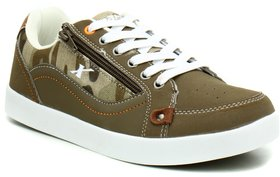 Sparx Men SM-313 Camel White Sports Shoes