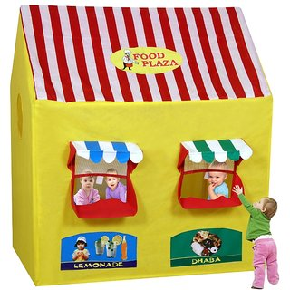 Food Plaza Play Tent
