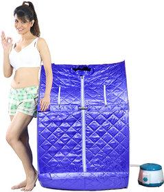 Kawachi Portable Steam Sauna Bath Blue