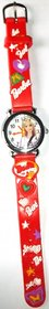 Barbie Kids Watch Red color for Girls