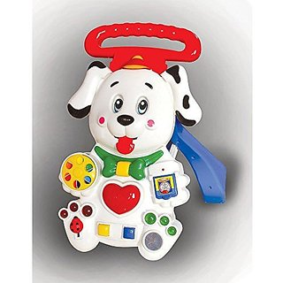 Toyzone EDU Dalmatian Puppy Walker Red