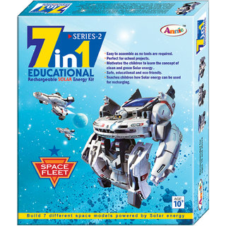 Annie 7-in-1 Educational Rechargeable Solar Energy Kit Series - 2