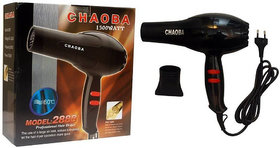 Choaba Hair dryer 2000 with most advance powerful 2 Speed motor and 3 heating setting 2800 Watts with cooling function