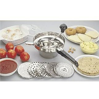 SNR Stainless Steel Puran Making Machine (crusher)Puran Maker Make Your Kitch
