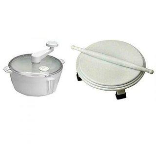 SNR Combo Offer Dough Maker + Polpat  Belan- Marble