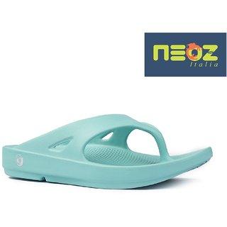 deec7de6db73 Buy Neoz Women s Green Flip Flops Online - Get 4% Off