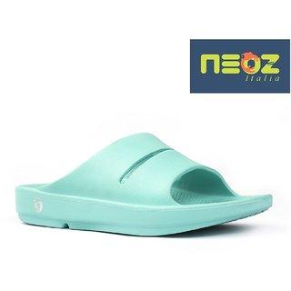 50960d4c0b9c4 Buy Neoz Women s Green Flip Flops Online - Get 6% Off