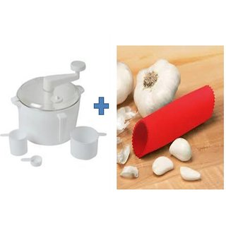 SNR Dough/Atta Maker With 3 Measuring Cup Get Garlic Peeler Free