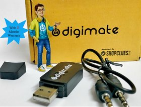 Digimate Car Bluetooth Device with 3 Months warranty