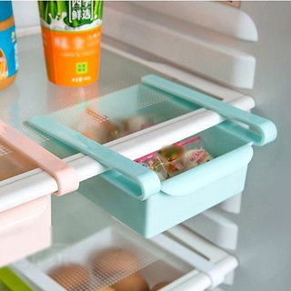 SNR Multi Purpose Plastic Storage Rack Organizer for Refrigerators (1pcs)