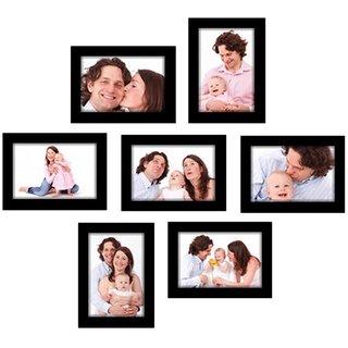 Crete Glass Photo Frame Set of 7