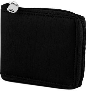 Avyagra Presents Leather zip around wallet-Best gift for men (Synthetic leather/Rexine)