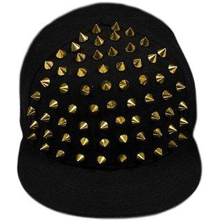 bf1ce4d115b MOCOMO Imported Era Black Spike Punter cap for Men  baseball cap hiphop cap
