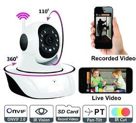 Wireless HD IP Wifi Camera CCTV Indoor Security - Uttoo