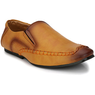 Prolific Mens Tan Casual shoe