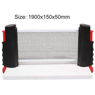 New Table Tennis Net Retractable and Adjustable To Most Table Sizes Portable Retractable Table Tennis Table Net Rack