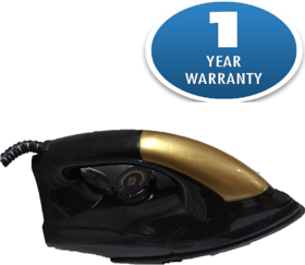 Tag9 Duster Dry Iron/ Automatic iron with 1 Year Warranty (Black)