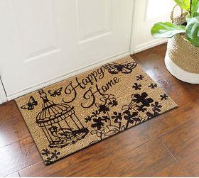 Happy home coir doormat