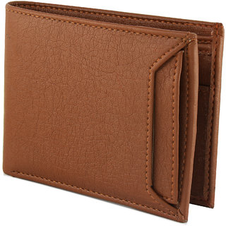 Avyagra presents detachable card holder leather wallet - Best gift for Men (Synthetic leather/Rexine)