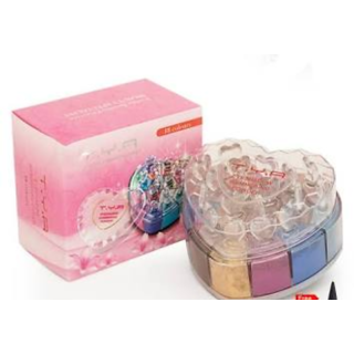 T.Y.A. shimmer and glitter eyeshadow 24 colors.360