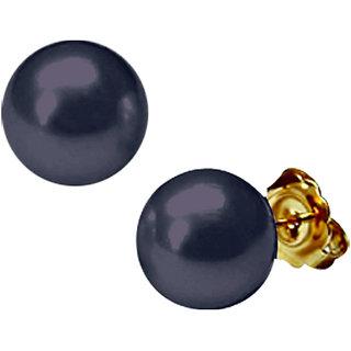 Sri Jagdamba Pearls Black Button Pearl Tops