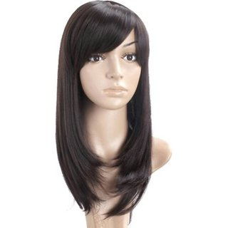 Buy Pema Long Natural Brown Full Head Hair Wig For Women and Girls Online -  Get 60% Off 81bd2f7941