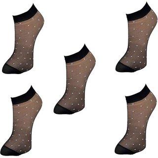 women's transparent socks pack of 6