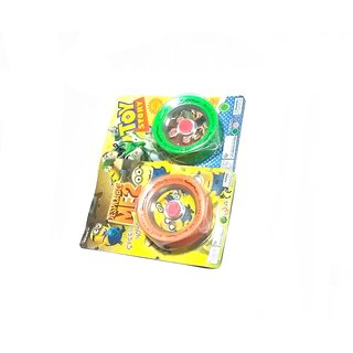 Nawani Super High Speed Diecast Metal And Plastic Yo-Yo, (Combo)