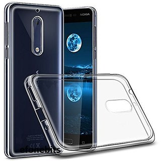 Back Cover for NOKIA 5 (High Quality Waterproof Silicon Transparent)