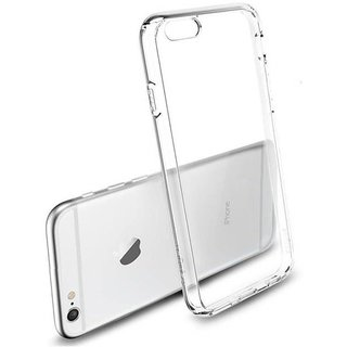 Back Cover for iPhone 6 (Transparent Rubber)