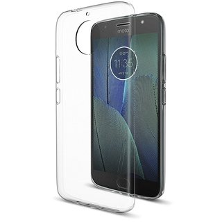 Back Cover for Moto G5S Plus / G5S+ (Transparent)