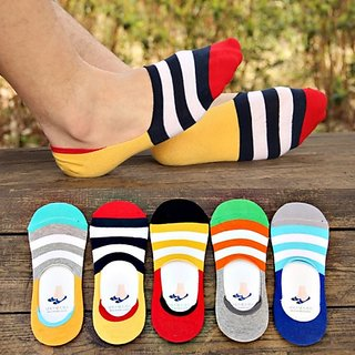 men  women loafer socks pack of 5