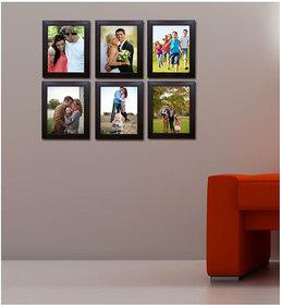 CRETE Photo Frame Set - Pack of 6