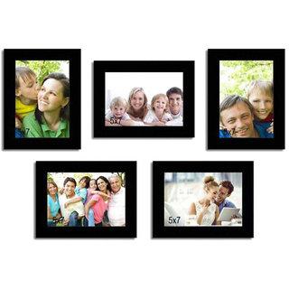 Crete Photo Frame (Brown, 5 Frames)