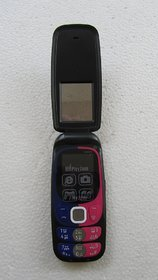 PlayZone Queen Dual Sim Flip Mobile Phone Torch FM Came
