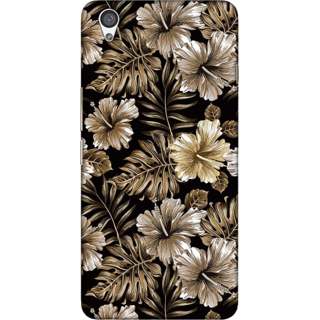 One Plus X Case, Floral Illustration Slim Fit Hard Case Cover / Back Cover For One Plus X