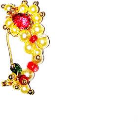 Fashionable Golden Nosepin for women  Girls by shrungarika -N-207