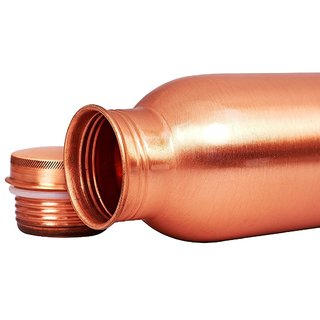 Wellbeing Within Pure Copper Water Bottle for Ayurvedic Health Benefits 900ml