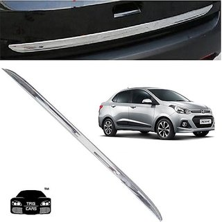 Buy Trigcars Hyundai Xcent Car Chrome Dicky Garnish Online Get 66 Off